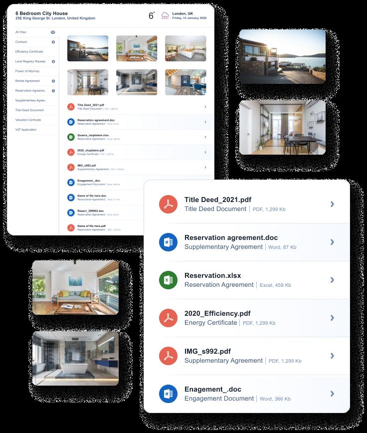 Provide secure access to client documents through Qobrix Real estate client portal
