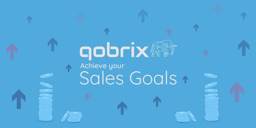 Sales goals Qobrix