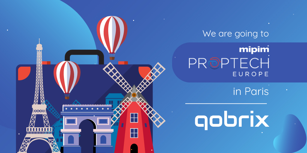 Qobrix to attend MIPIM PropTech Europe 2019 in Paris