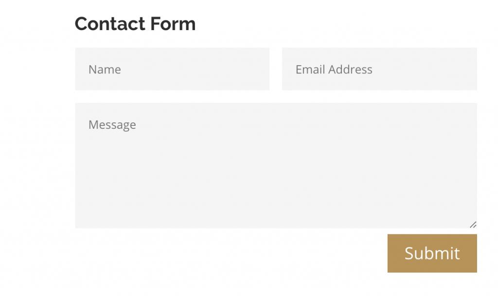 Qobrix CRM contact form integration