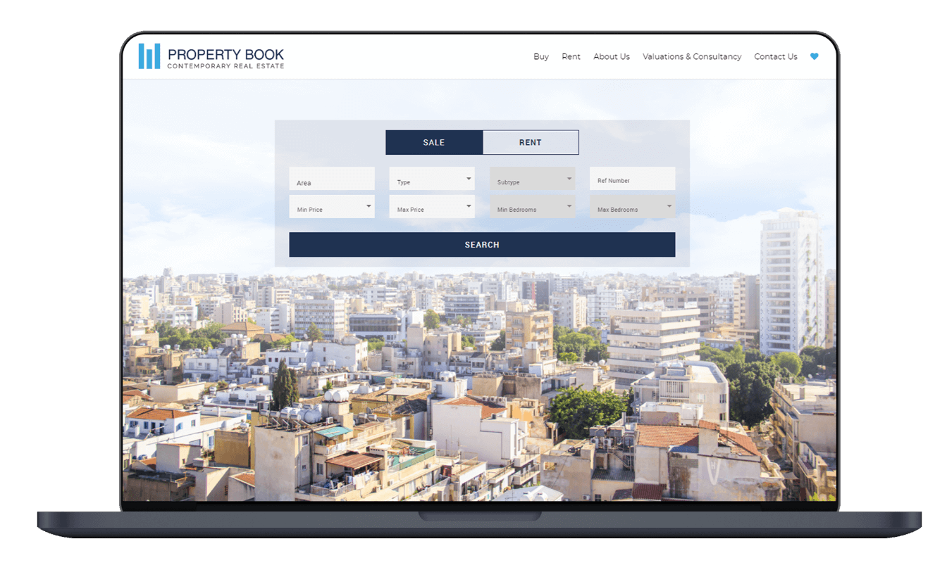 Property Book Real Estate Website