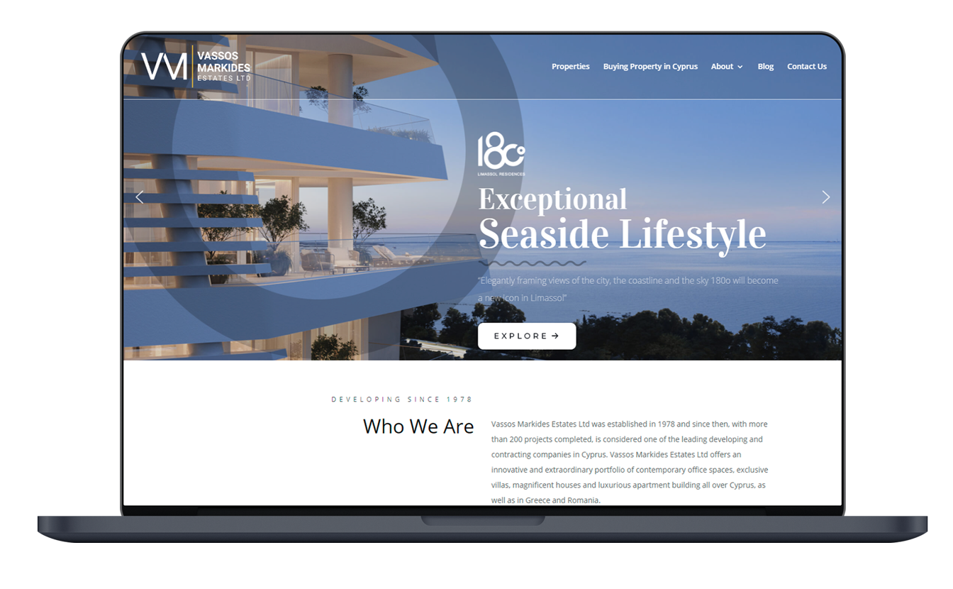 VM Real Estate Website
