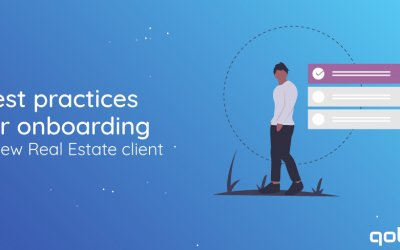 Best practices for onboarding a new Real Estate client