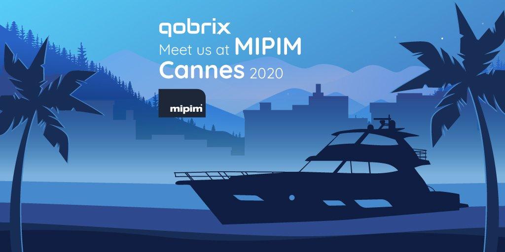 Meet Qobrix at MIPIM Cannes 2020